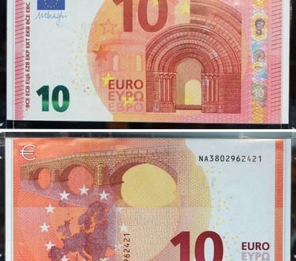 Presentata la nuova banconota da 10 Euro