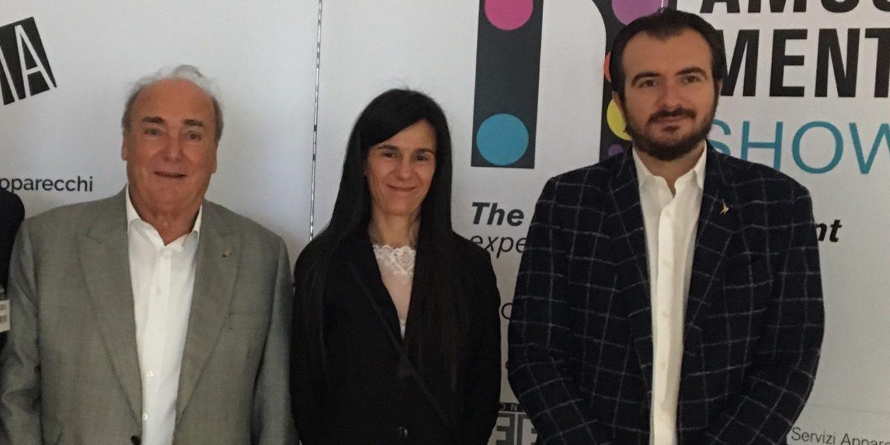 """Lega Nord, On. Molinari e On. Lazzarini in visita a Enada e Roma Amusement Show:""""Va bene il contrasto alla ludopatia ma dobbiamo anche tenere conto dell'occupazione"""""""