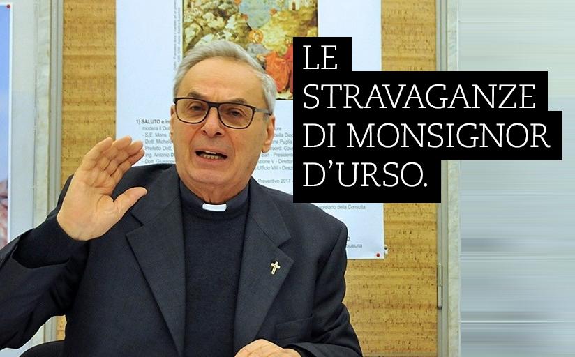 """""""Le stravaganze di Monsignor D'Urso, scommette su tutti i governi ma poi perde""""."""