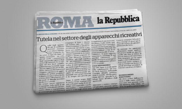 Rassegna stampa La Repubblica